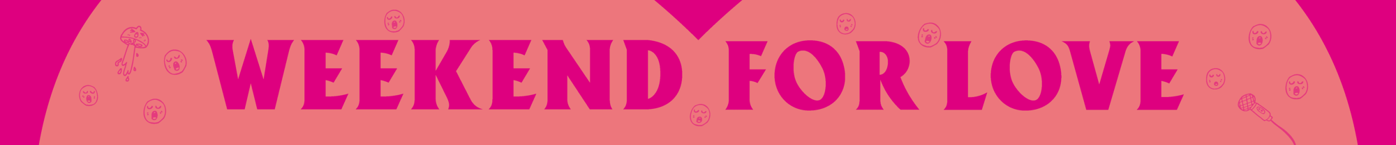 Weekend for love logo
